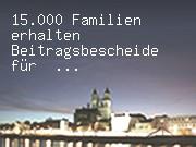 15.000 Familien erhalten Beitragsbescheide für Kinderbetreuung
