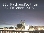 25. Rathausfest am 03. Oktober 2016