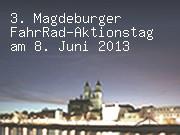 3. Magdeburger FahrRad-Aktionstag am 8. Juni 2013