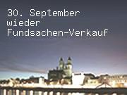 30. September wieder Fundsachen-Verkauf
