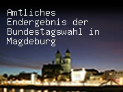 Amtliches Endergebnis der Bundestagswahl in Magdeburg