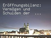 Eröffnungsbilanz: Vermögen und Schulden der Landeshauptstadt Magdeburg