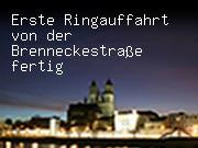 Erste Ringauffahrt von der Brenneckestraße fertig