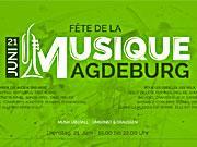 Fete de la Musique - Am 21. Juni 2016 in Magdeburg
