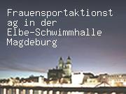Frauensportaktionstag in der Elbe-Schwimmhalle Magdeburg