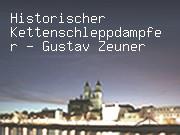 Historischer Kettenschleppdampfer - Gustav Zeuner