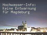 Hochwasser-Info: Keine Entwarnung für Magdeburg