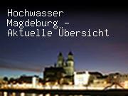 Hochwasser Magdeburg - Aktuelle Übersicht