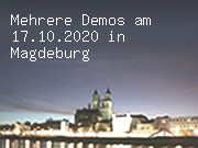 Mehrere Demos am 17.10.2020 in Magdeburg
