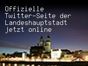 Offizielle Twitter-Seite der Landeshauptstadt jetzt online