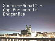 Sachsen-Anhalt - App für mobile Endgeräte
