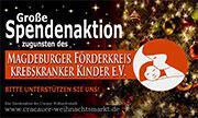 Spendenaktion: Förderkreis krebskranker Kinder e.V.