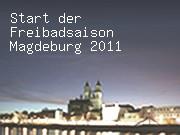 Start der Freibadsaison Magdeburg 2011