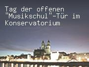 """Tag der offenen """"Musikschul""""-Tür im Konservatorium"""