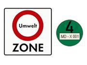 Umweltzone: Ab Januar 2013 nur noch grüne Umweltplakette