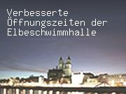 Verbesserte Öffnungszeiten der Elbeschwimmhalle