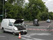 Verkehrsunfall mit drei Verletzten in Magdeburg
