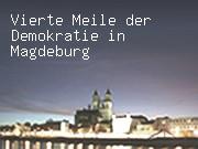 Vierte Meile der Demokratie in Magdeburg