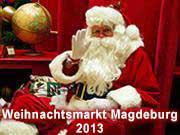 Weihnachtsmarkt Magdeburg 2013: Programm & Öffnungszeiten
